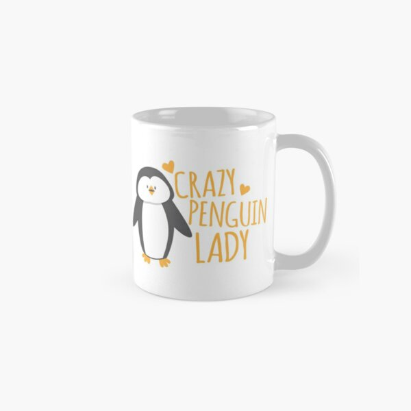 Crazy Penguin Lady  Classic Mug