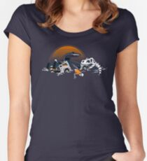 88 Million Years Ago... Women's Fitted Scoop T-Shirt