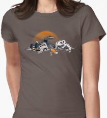 88 Million Years Ago... Women's Fitted T-Shirt