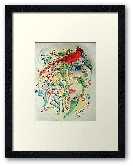 Red Cardinal.. by Robin Monroe