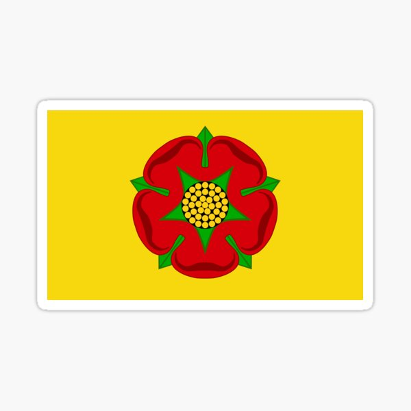 Lancashire Flag Stickers, Gifts and other Products Sticker