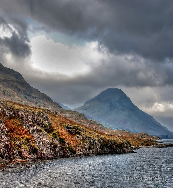 Wast Water - Lake District by Trevor Kersley