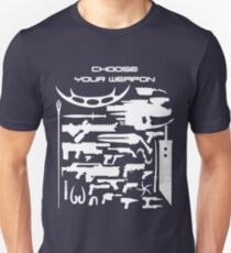 Choose your weapon - light Unisex T-Shirt
