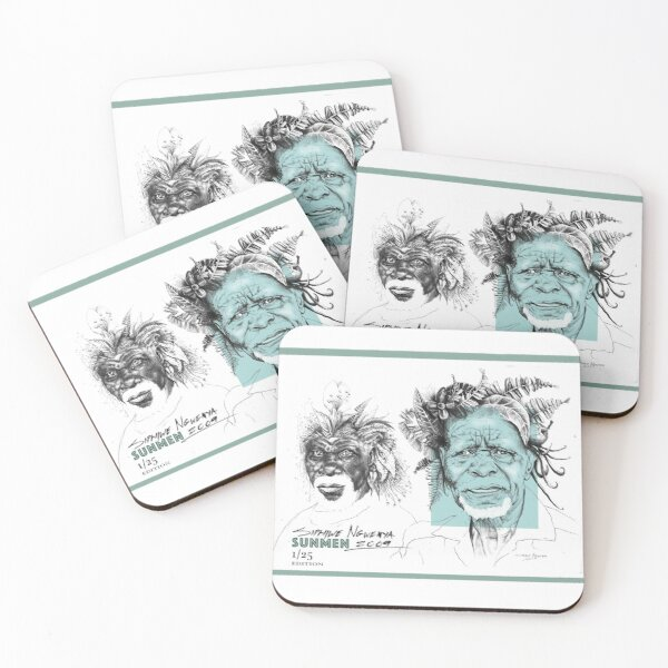 SunMen Coasters (Set of 4)