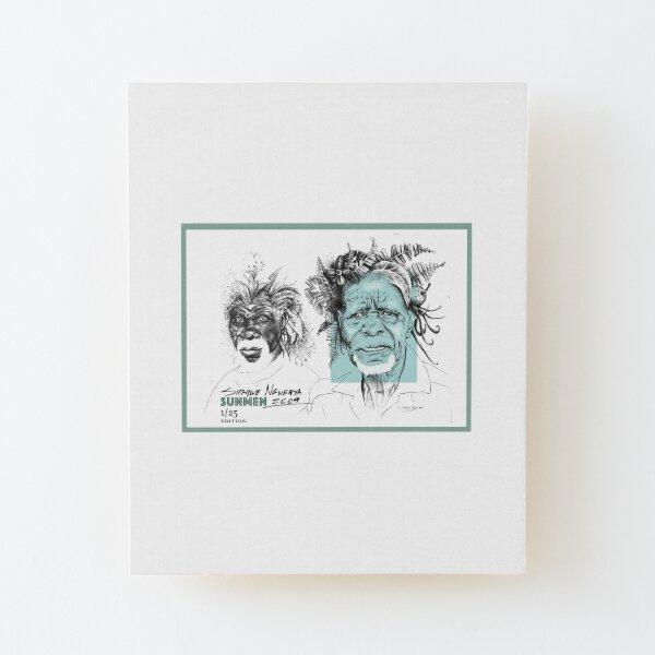SunMen Wood Mounted Print