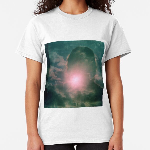 Head in the clouds, Vintage photo, film photography, double exposure, art photo Classic T-Shirt