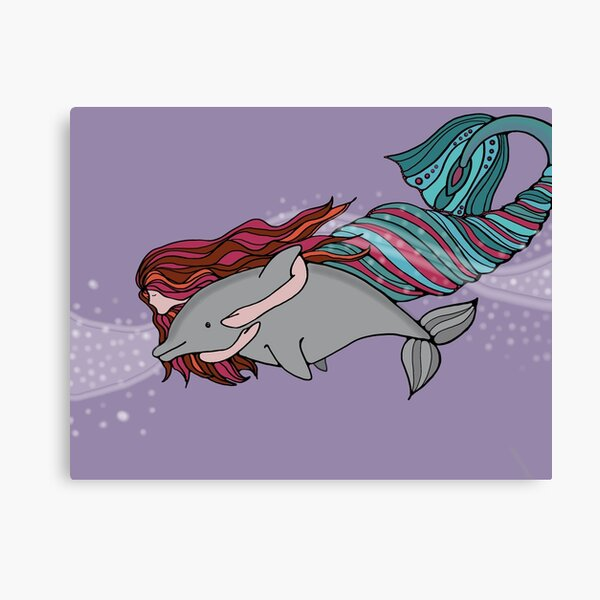 Together: Mermaid Adventures Canvas Print