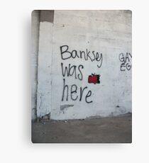 Banksey Canvas Print