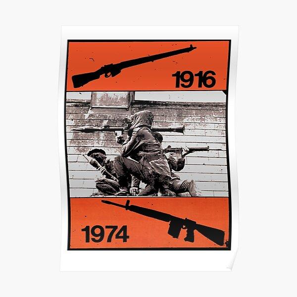 IRA - 1916 - 1974 Poster