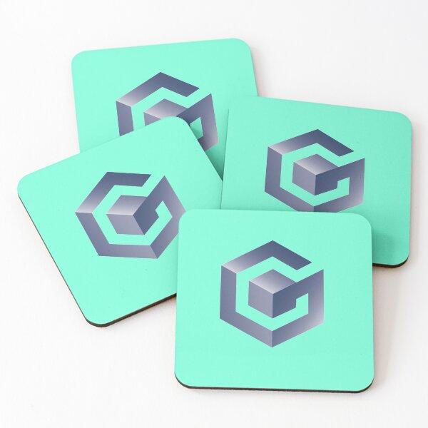 Nintendo Gamecube Coasters (Set of 4)