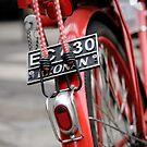 la bicletta rouge à Le Marais by Peppedam