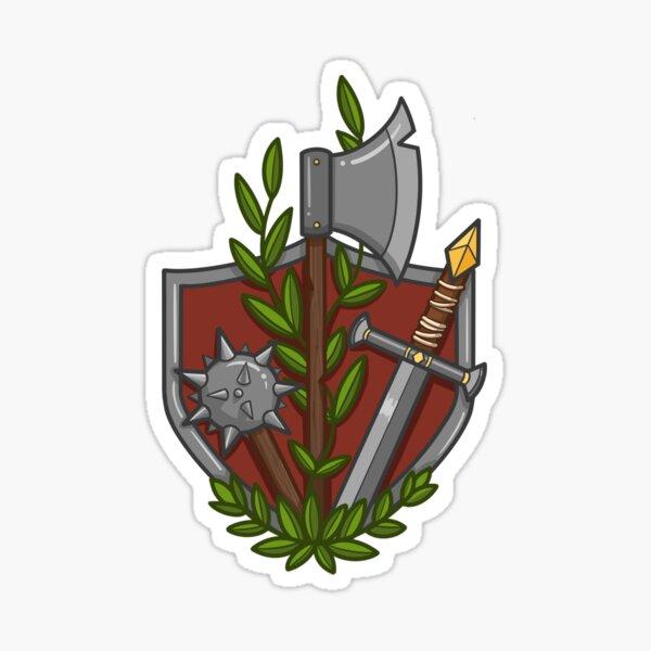 Warrior/Fighter Kit Sticker