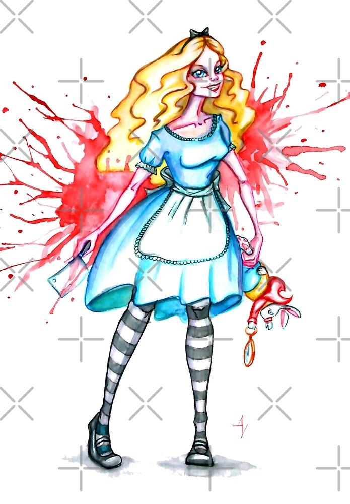 Alice gone mad by AV-art