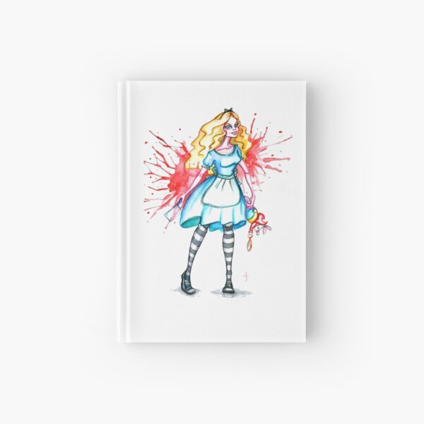 Alice gone mad Hardcover Journal