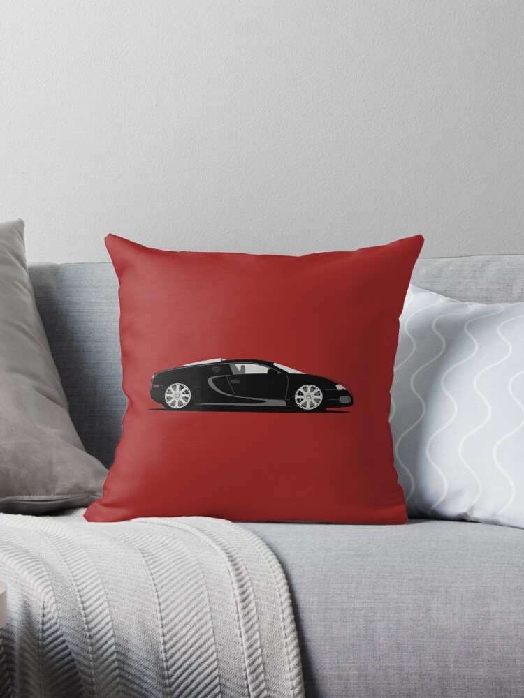 2009 Bugatti Veyron 164 Fbg Par Hermes Throw Pillows By