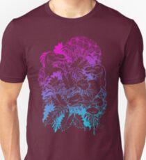 T Rex Pink and Blue T-Shirt