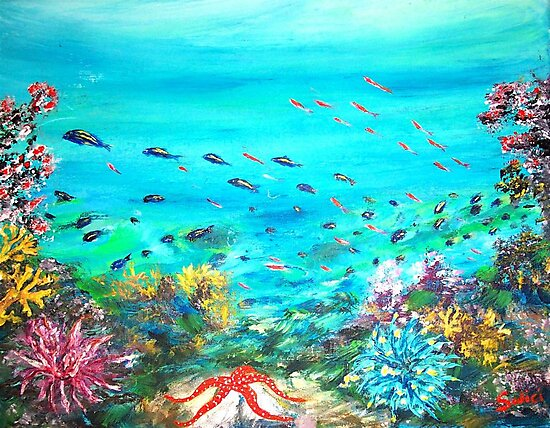 DEEP END OF THE SEA  by Mary Sedici
