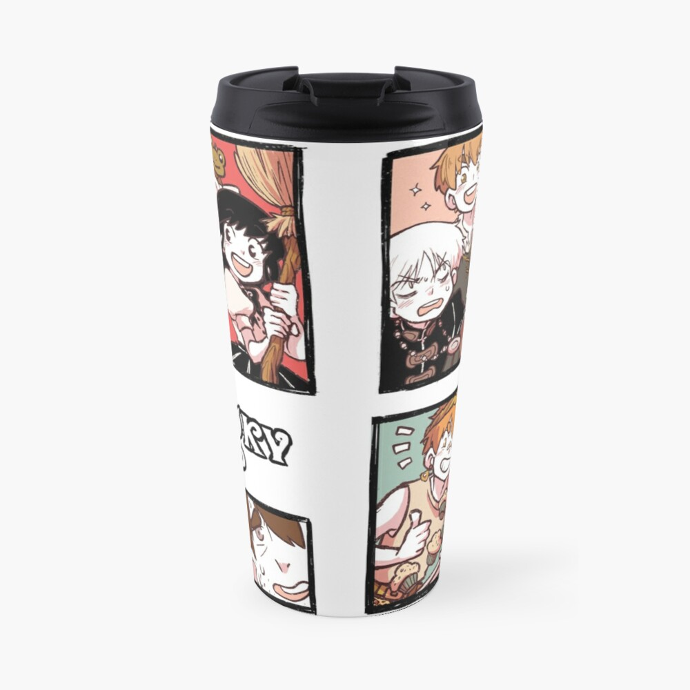 Hooky Comic Page Color Travel Mug