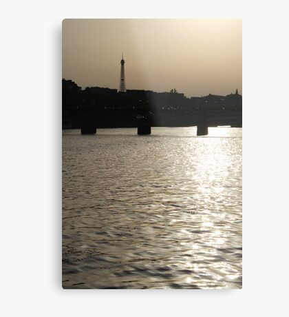 Paris - Seine reflections August 2011 Metal Print