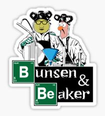 Bunsen & Beaker Sticker