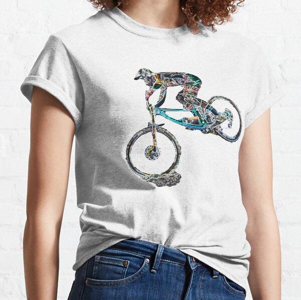 Downhill Mountainbiken Classic T-Shirt