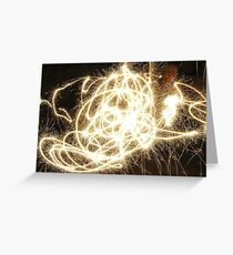 Sparklers Greeting Card