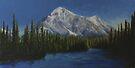 Rocky Mountain Twilight by Michael Beckett
