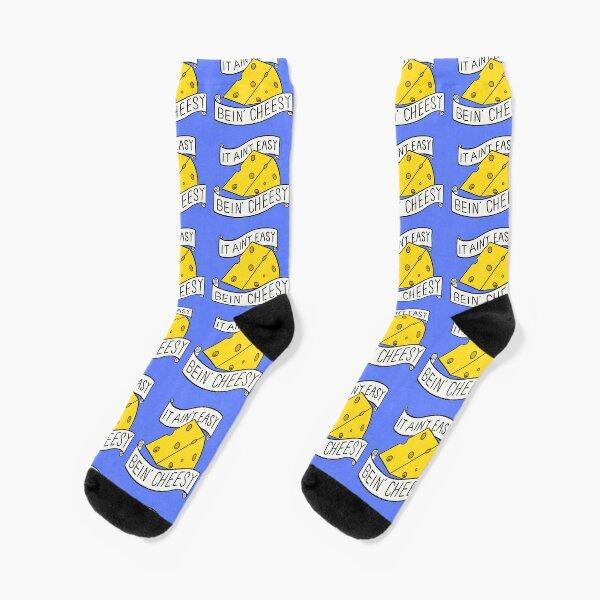 It ain't easy bein' cheesy Socks