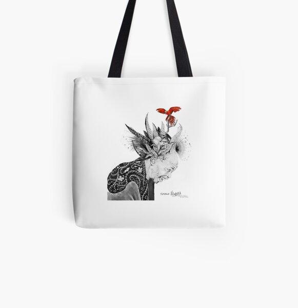 Elder Sunman All Over Print Tote Bag