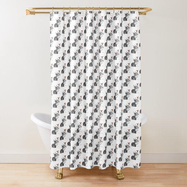 Elder Sunman Shower Curtain