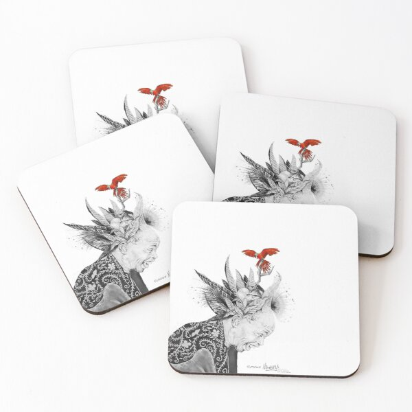 Elder Sunman Coasters (Set of 4)