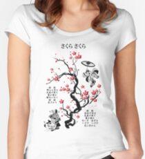 Sakura Sakura Women's Fitted Scoop T-Shirt
