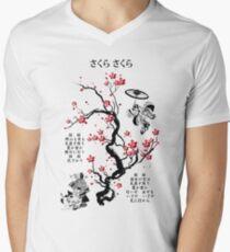 Sakura Sakura Men's V-Neck T-Shirt