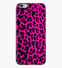 Hot Pink Leopard Print iPhone-Hülle & Cover