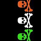 Irish Skulls by brattigrl