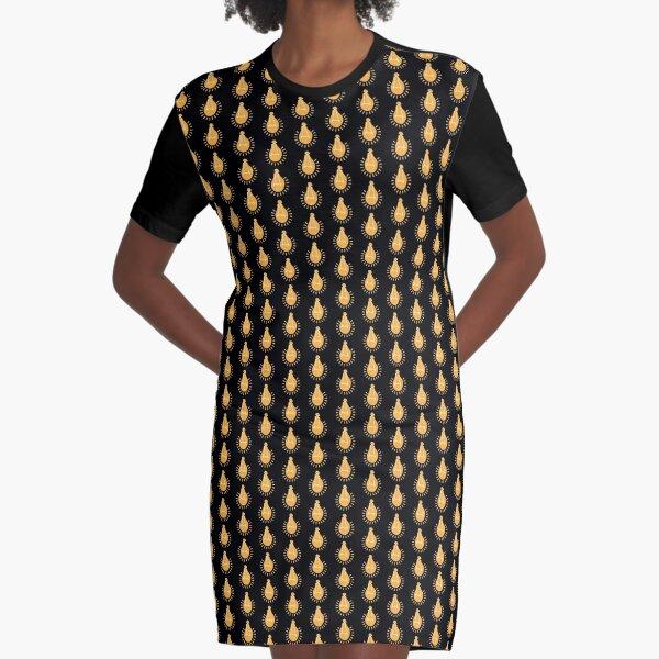Maboneng Enlightening Bulb Graphic T-Shirt Dress