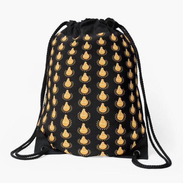 Maboneng Enlightening Bulb Drawstring Bag