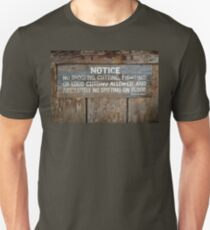 The Law West of the Pecos River T-Shirt
