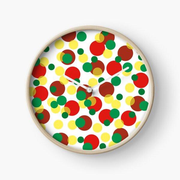 Happy Dots Clock