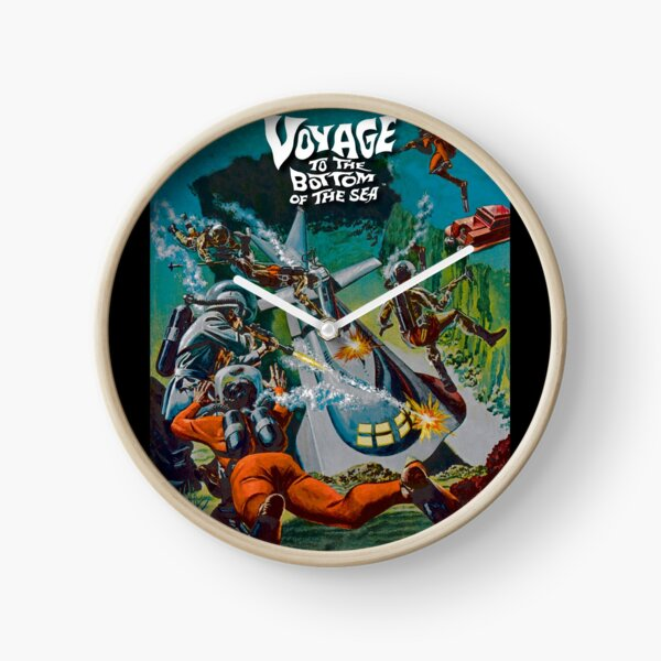 Voyage to the Bottom of the Sea Clock