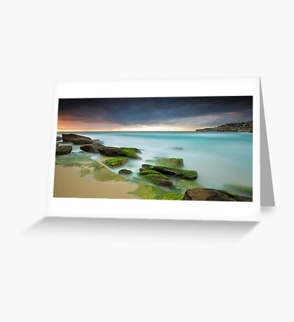Ocean Snow Greeting Card