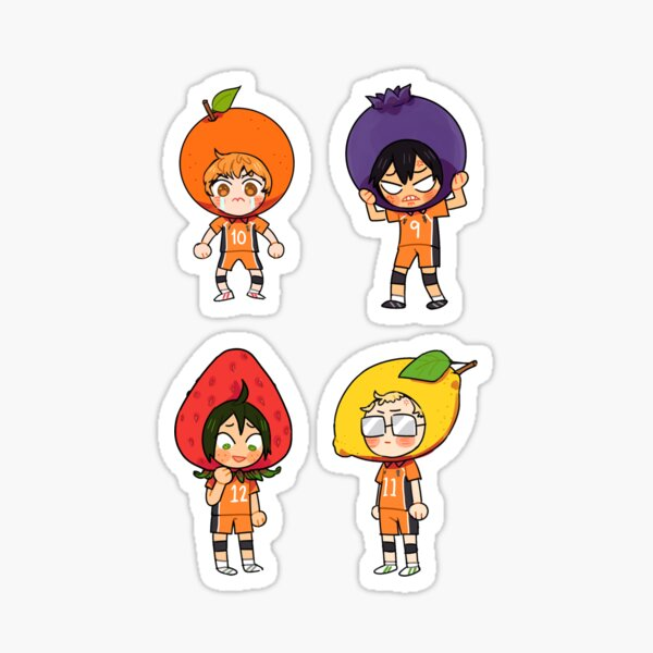 Fruity Freshmen! Sticker