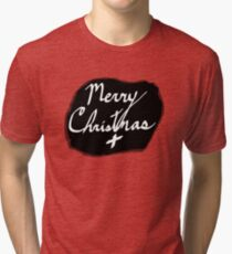 Merry Christmas Signature Tri-blend T-Shirt