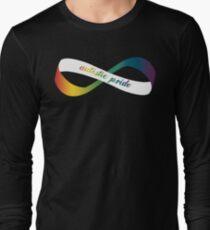 Autistic Pride Infinity Möbius Long Sleeve T-Shirt