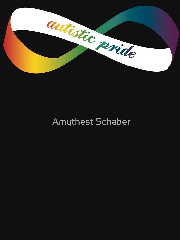 Autistic Pride Infinity Möbius by amythests