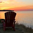 End of another Mayne Island Day by TerrillWelch