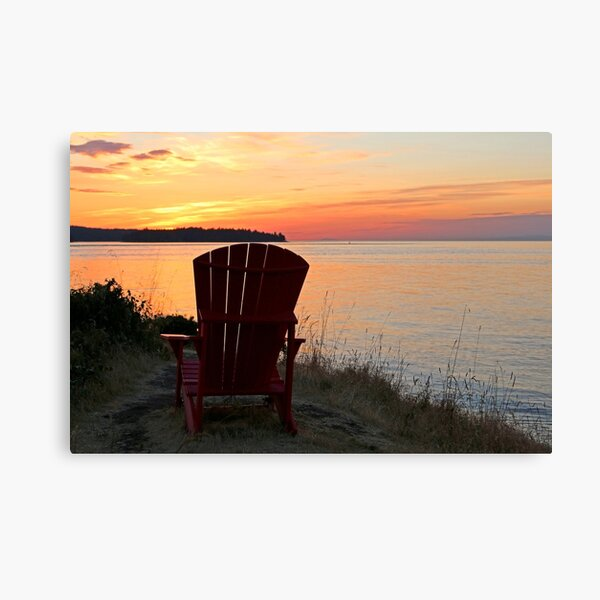 End of another Mayne Island Day Canvas Print