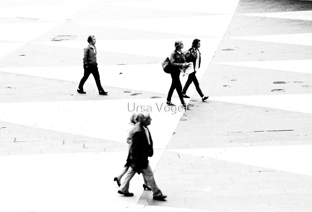 1986 - the crossing by Ursa Vogel