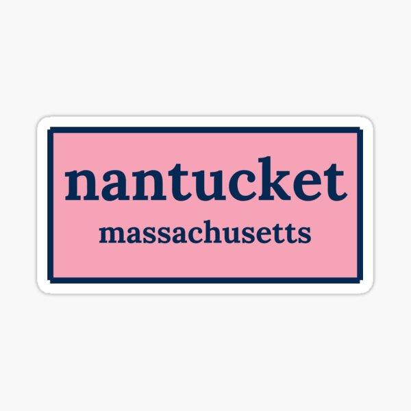 Nantucket, Massachusetts Sticker