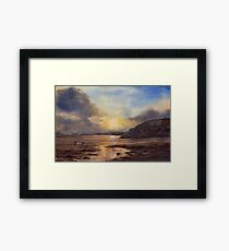 Relaxed Reflection Framed Print